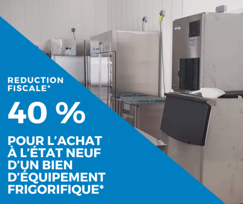 reduction fiscale 40 % equipement frigorifique